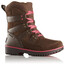 Sorel Youth Meadow Lace Boots Umber, Afterglow